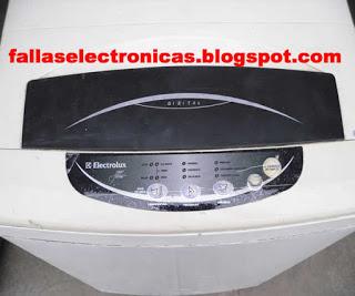 lavarropa electrolux