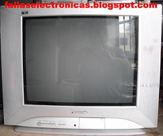 Televisor Panasonic no funciona