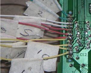 como reparar los botones de un horno de microondas
