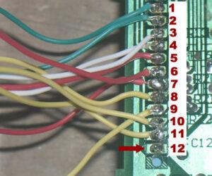 como conectar los botones del teclado del horno microondas