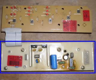 tarjeta electronica con resina dura lavadora