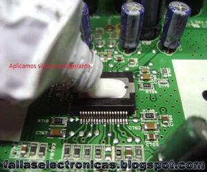 como cambiar circuito integrado de equipo