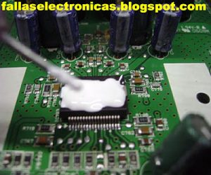 cambio de circuito integrado smd
