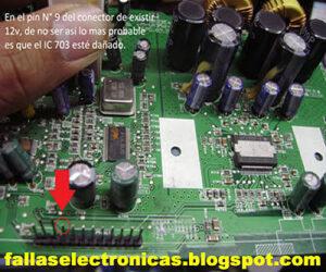 cambio de circuito de audio lg