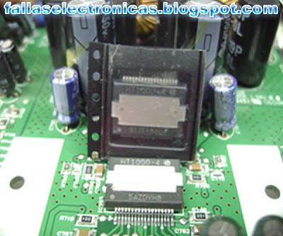 como cambiar integrado SMD ht 1000-4