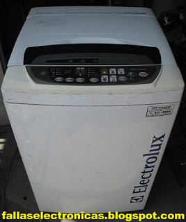lavadora electrolux no funciona