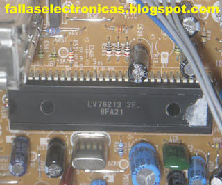 circuito integrado tv lg