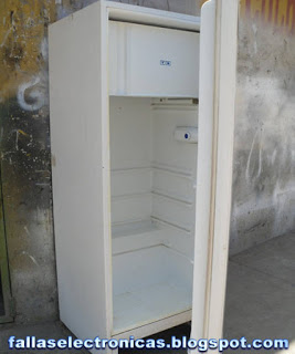 reparar freezer pinchado