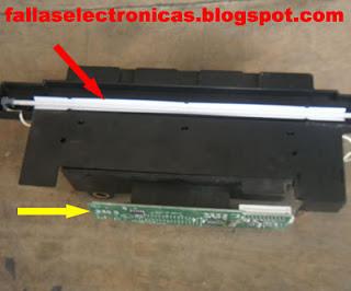 como reparar lamparas de monitor lcd