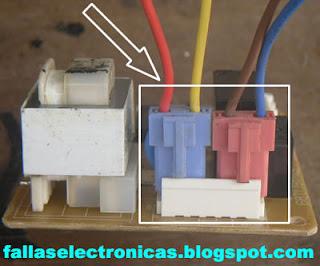 conectores de tarjeta de refrigerador lg