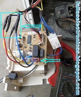 como solucionar cableado electrico nevera lg