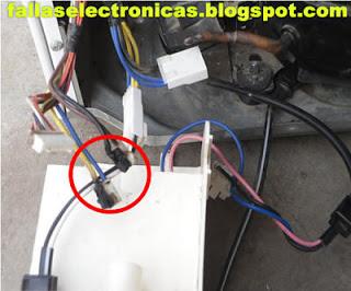 conectores de placa de nevera quemada