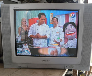 tv sony con imagen oscura