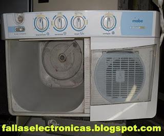 Mi lavadora tira agua
