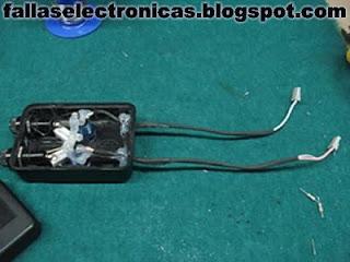 Probador de lámparas CCFL Circuito para armar
