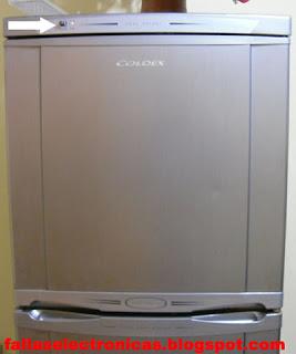 Refrigerador coldex no frost se llena con hielo
