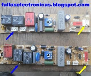 tarjeta electronica de nevera coldex