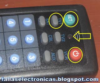 programar control de tv