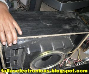 como desmontar una caja acustica