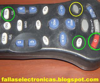 programacion de mando a distancia