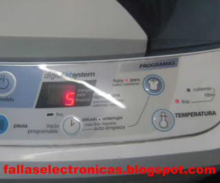 solucion de tarjeta de lavadora mabe