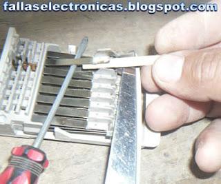 mantenimiento de contactos de reloj de lavadora
