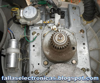 limpieza caja de transmision lavadora