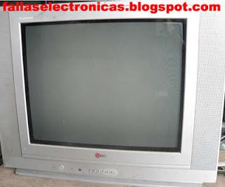 luz roja parpadeante de tv lg