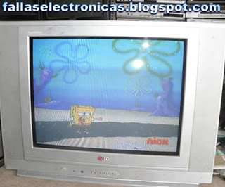tv lg modelo rp 21fd10g se apaga y la luz roja parpadea