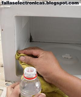 Pintura para interior de horno microondas