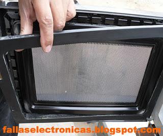 como desarmar horno microondas para mantenimiento