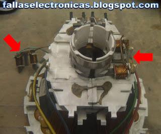 daños y medicion electrica de bobinas del yugo