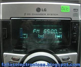 como reparar la salida de audio lg