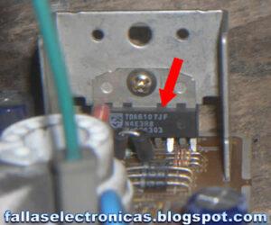 circuito integrado de vídeo tv samsung