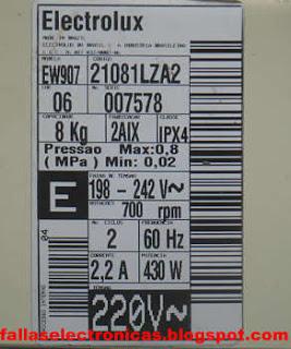 adaptar timer lavadora electrolux