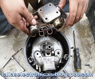 como desmontar compresor de nevera
