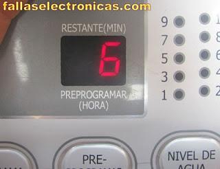 lavadora daewoo no centrifuga