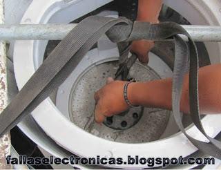 como retirar tambor de lavarropa