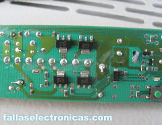 circuito electronico de frigorifico bosch