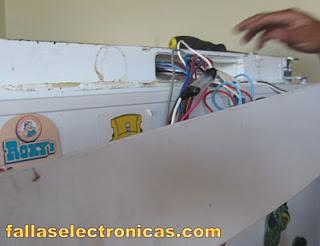 circuito electronico frigorifico bosch