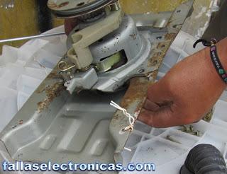 como reparar una lavadora electrolux