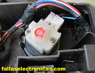 presostato o nivel de agua de lavadora electrolux