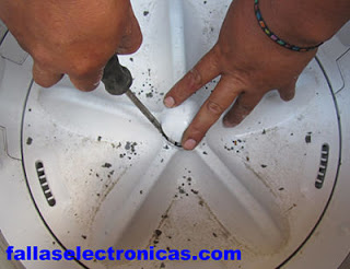 agitador de lavadora electrolux