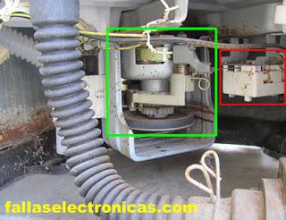 caja de trasmisión de lavadora electrolux
