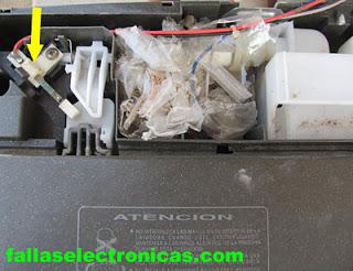 sensor de puerta de lavadora electrolux