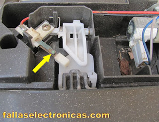 interruptor de puerta de lavadora electrolux
