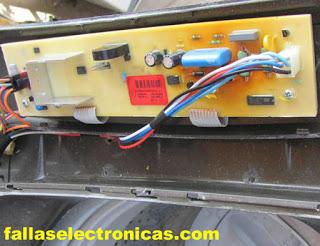 tarjeta de lavadora electrolux no enciende