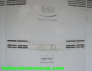 ductos de aire frio heladera indurama