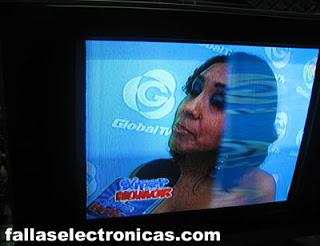 falla en la imagen de tv samsung