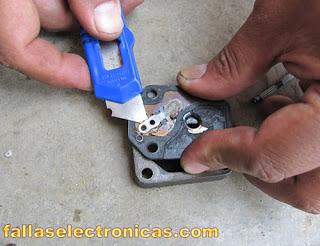 como reparar las valvulas del compresor de la nevera